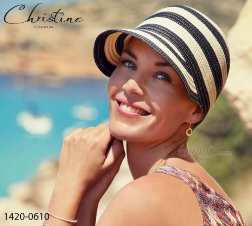 Christine Style 1420-0610 SUMMER STRAW CAP