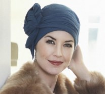 Christine Style 1015 JOLI (8200) Long bands cotton turban