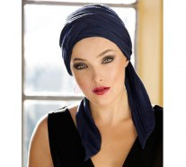 Long bands turban Aurora style CARLOTTA