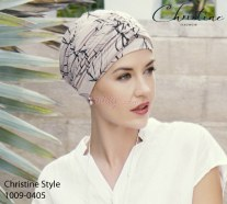Turban with band Christine Style 1009-0405 (8278) KARMA BAMBOO
