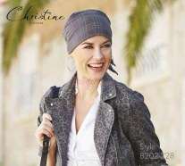 Turbans Christine Style 8202-STRIPES