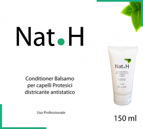 Conditioner NAT.H districante antistatico per capelli protesici veri naturali