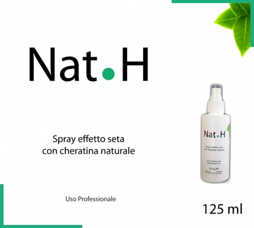 Spray cheratina NAT.H per capelli veri naturali