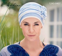 Turbante calottina in lino Christine Style 1245-0407 AHAVA