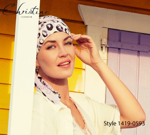 Turbante Christine 1419-0593 BEATRICE bambù