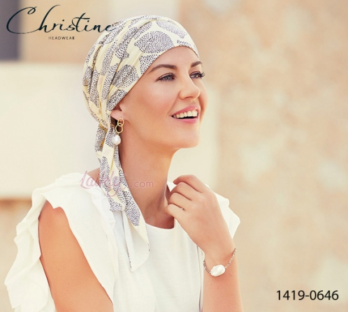 Turbante Christine 1419-0646 BEATRICE bambù