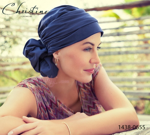 Turbante Christine 1438-0655 MILA cotone Supima