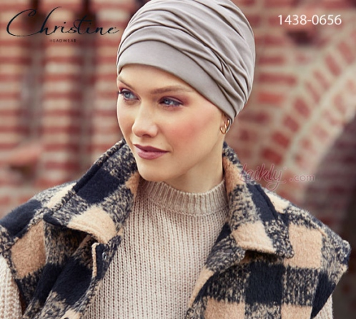 Turbante Christine 1438-0656 MILA cotone Supima