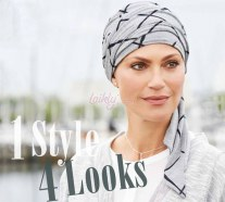Turbante code lunghe chemioterapia Belle Madame Style 920-54